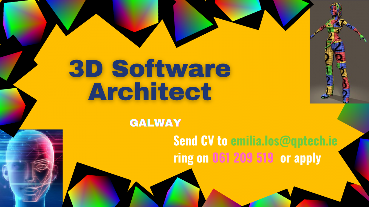 3D Software Architect Galway