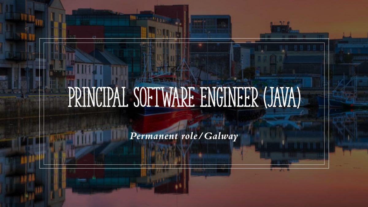 Principal Java Software Engineer Galway