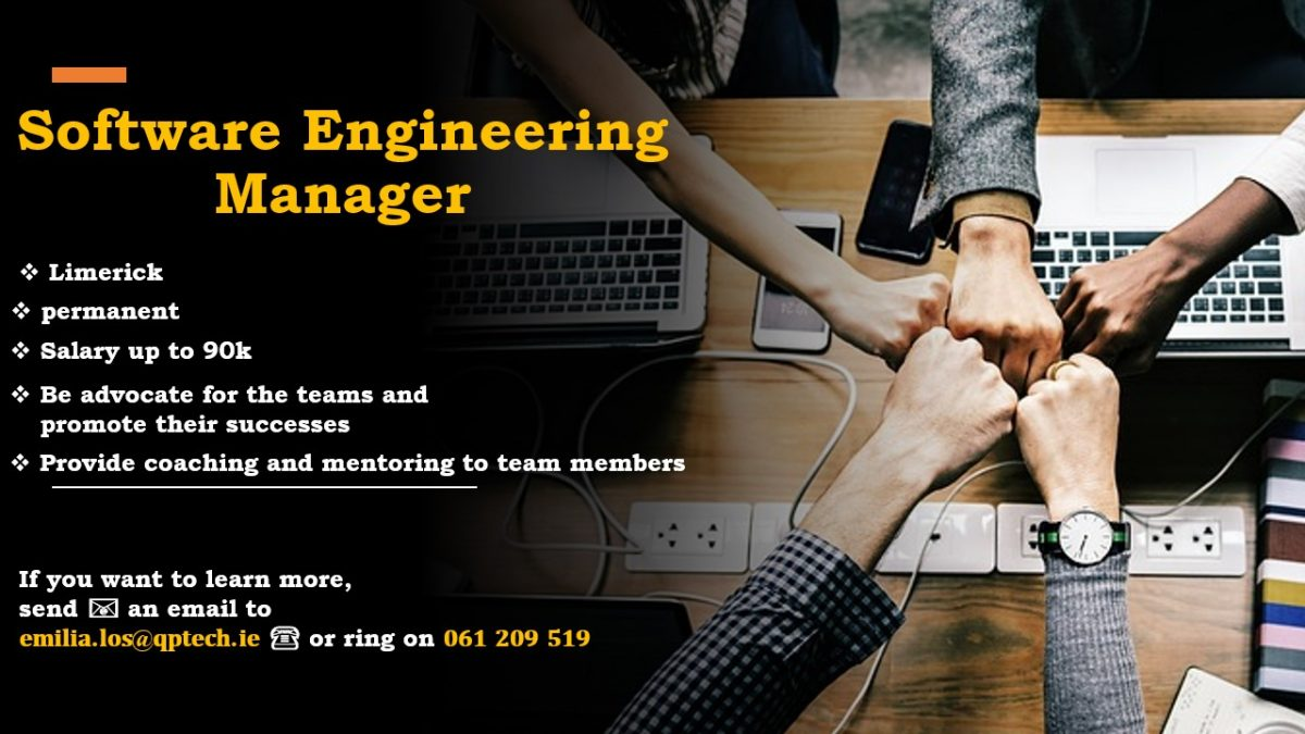Engineering Manager permanent position