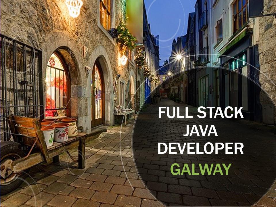 Full Stack Engineer Galway