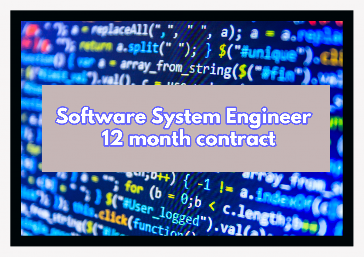 Software System Engineer contract Limerick